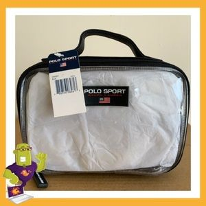 Vintage Polo Sport Toiletry Bag ( New w/ Tags )